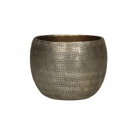 CABEB - photophore - métal - or - Ø9x6,5 cm