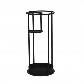 KAABA  -  - DIA 30 x H 65 cm - Zwart