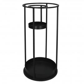 KAABA  -  - DIA 30 x H 65 cm - black