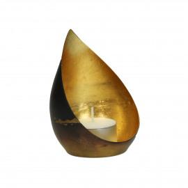 MEMOIRE - t-light - metaal - DIA 7,5 x H 11 cm - Goud