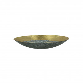 GALOR - bowl - metal - DIA 25 x H 4,5 cm - Gold