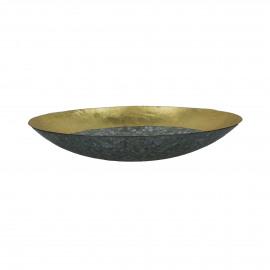 GALOR - bol - métal - DIA 31,5 x H 6 cm - Or