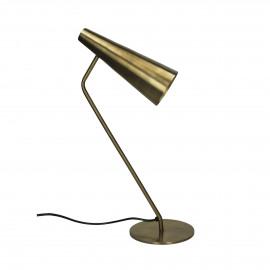 CASPAR - table lamp - metal - L 24,5 x W 14 x H 44 cm - gold