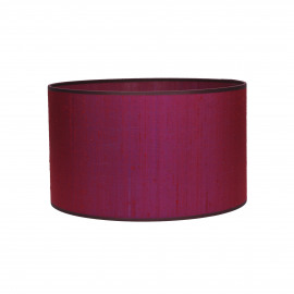 PARSU - lampenkap - zijde - paars - E27 - Ø30x18 cm