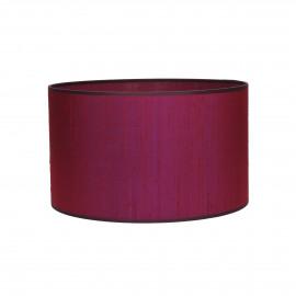 PARSU - lampshade - silk - violet - E27 - Ø30x18 cm