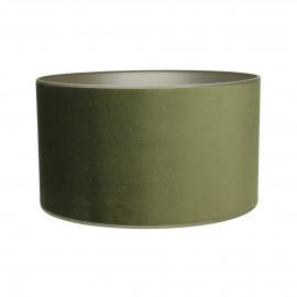 LOU - lampenkap - velours - groen - E27 - Ø40x22 cm