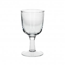 White wine glass -  - Clear