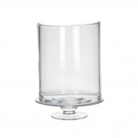 RENE - verre - DIA 27 x H 6 cm - transparant