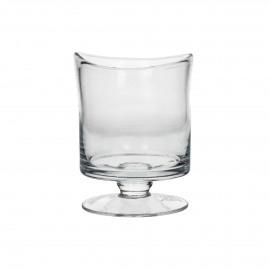 RENE - Windlicht - Mondgeblazen glas - Clear - S - Ø11xh15cm