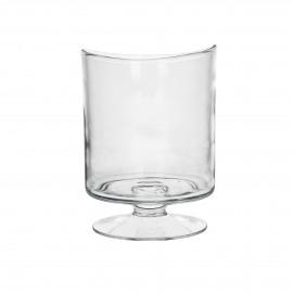 RENE - Windlicht - Mondgeblazen glas - Clear- M - Ø15xh21cm