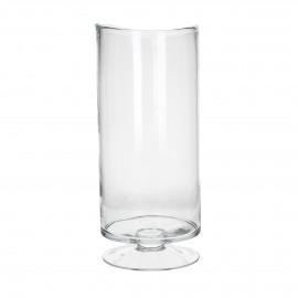 RENE - Windlicht - Mondgeblazen glas - Clear- XL - Ø19Xh43cm