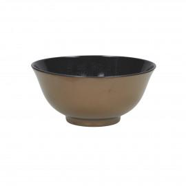 BLACKY - bowl - porcelain - DIA 12 x H 6 cm - black/white
