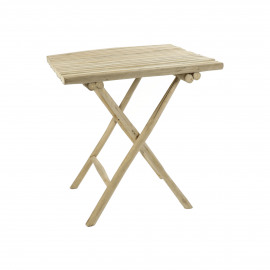 HAVANA - table - teck - L 70 x W 70 x H 76 cm - Naturel