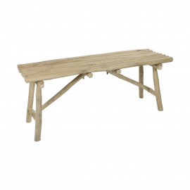 HAVANA - bank - teak - L 110 x W 35 x H 45 cm - naturel