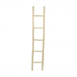 INSULA - ladder - teak - L 35 x W 5 x H 180 cm  - natural