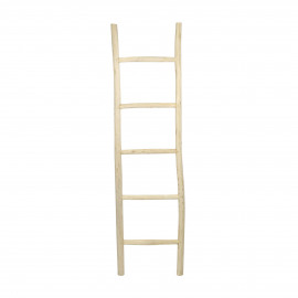 INSULA - ladder - teak - L 50 x W 5 x H 180 cm - natural