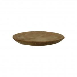 ALGARVE - rond bord - teak - DIA 12 cm - naturel