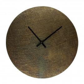 JUDE - horloge - aluminium - DIA 60 x W 2 cm - brass