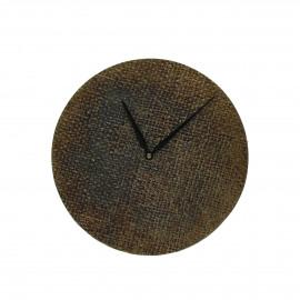 JUDE - horloge - aluminium - DIA 20 x W 2 cm - brass