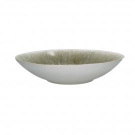 BIG BANG - salade schaal - stoneware - beige - Ø32x6,5 cm