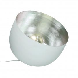 LUMINO - lampe de table - métal - DIA 36 X H 32,5 cm - blanc