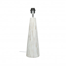 LINO - floor lamp - polyresin - DIA 13,5 x H 49 cm - white
