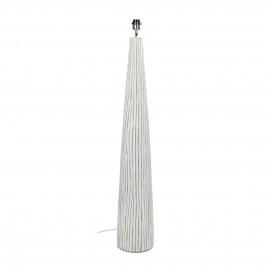 LINO - floor lamp - polyresin - DIA 21,5 x H 126 cm - white