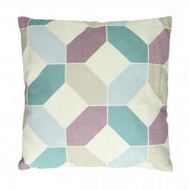ANUKA - cushion - cotton - L 45 x W 45 cm - Multicolor