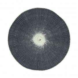 ECLAT - placemat - paper - DIA 38 cm - dark blue