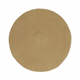 KOLORI - placemat - papier - DIA 38 cm - camel