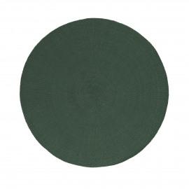 KOLORI - placemat - paper - DIA 38 cm - greyish green