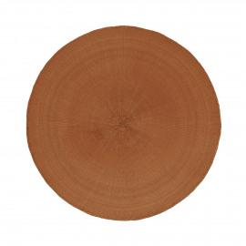 KOLORI - placemat - papier - DIA 38 cm - oranje