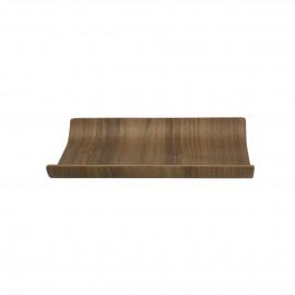 BUTLER - dienblad - multiplex - L 21 x W 17,5 cm - bruin