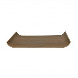 BUTLER - dienblad - multiplex - L 40 x W 28 cm - bruin