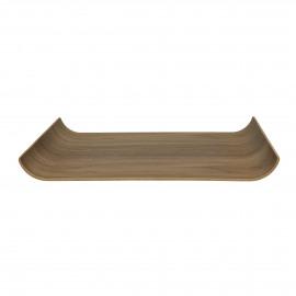 BUTLER - tray - multiplex - L 44 x W 31 cm - brown