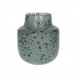 SPICKLE - vase - verre - DIA 15,5 x H 19,5 cm - mix de couleurs
