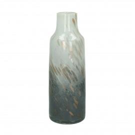 STORM - vase - verre - DIA 15,5 x H 30 cm - multicolor