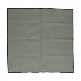 METISSE - set/4 set de table - lin / coton - L 48 x W 33 cm - gris