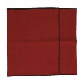 METISSE - tafelloper - linnen / katoen - L 150 x W 40 cm - roest