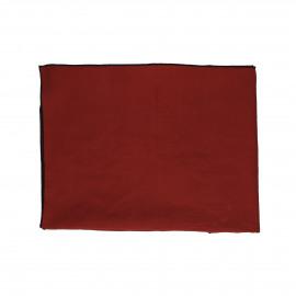 METISSE - tafelkleed - linnen / katoen - L 170 x W 170 cm - roest