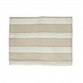TIZIA - table cloth - cotton - L 170 x W 170 cm - Amber