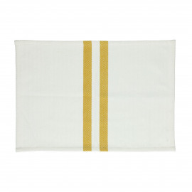 TIZIA - set/4 placemats - cotton - L 48 x W 33 cm - amber