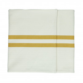 TIZIA - set/2 runners - cotton - L 150 x W 40 cm - amber