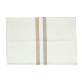 TIZIA - set/4 placemats - cotton - L 48 x W 33 cm - beige