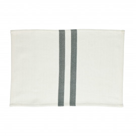 TIZIA - set/4 placemats - cotton - L 48 x W 33 cm - grey