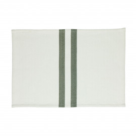 TIZIA - set/4 placemats - cotton - L 48 x W 33 cm - green
