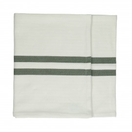TIZIA - set/2 runners - cotton - L 150 x W 40 cm - Green