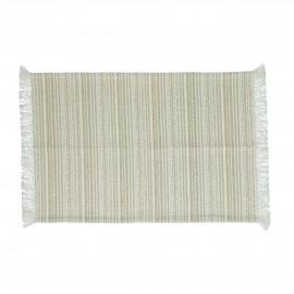 MILLESRAIES - set 4 - cotton - L 48 x W 33 cm - beige