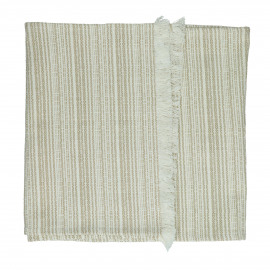 MILLESRAIES - set 2 - cotton - L 150 x W 40 cm - Beige