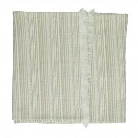 MILLESRAIES - set 2 - cotton - L 150 x W 40 cm - beige